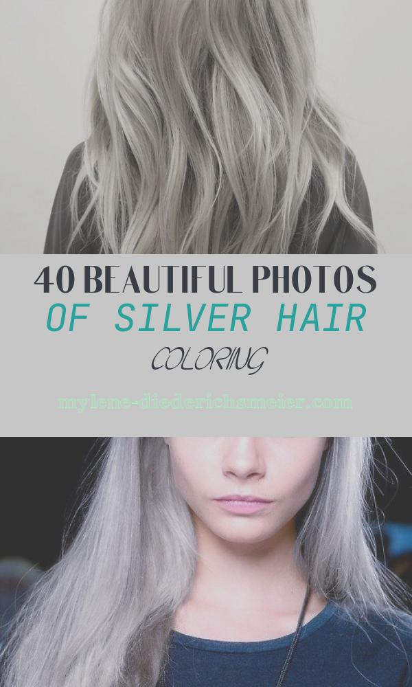 Silver Hair Coloring Awesome Silver Hair Dye On Blonde Hair