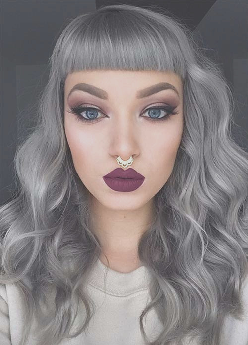 silver hair colors dyeing maintaining grey hair