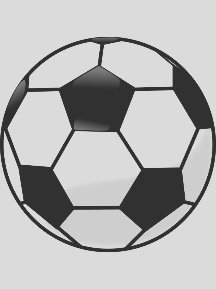 soccer ball coloring pages
