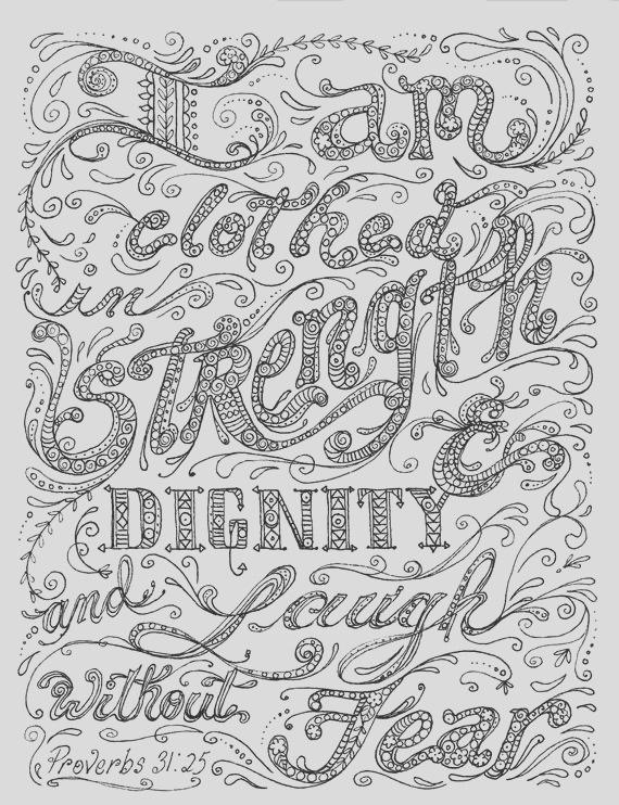 instant coloring page scripture