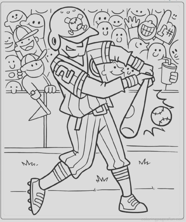 coloring pages for adults sports