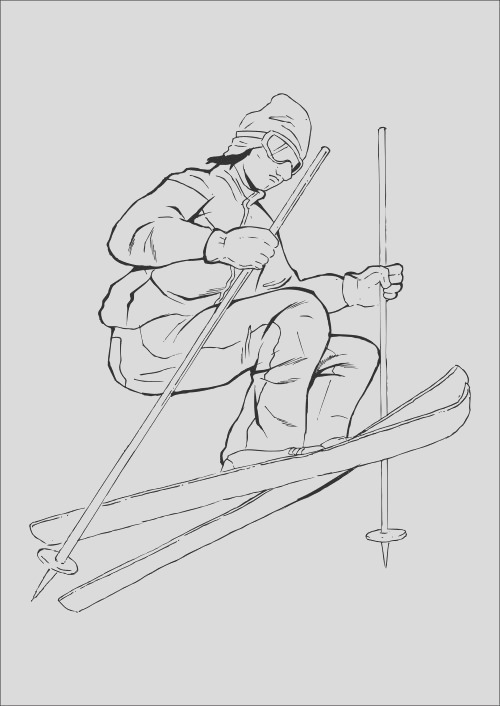 sports coloring pages