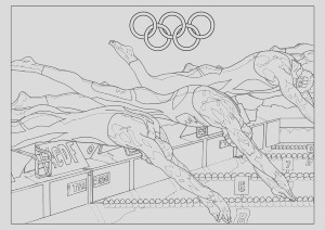 olympic sport adult coloring pages