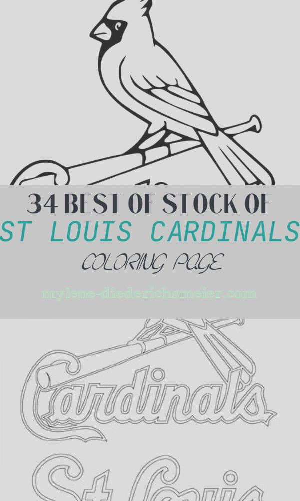 St Louis Cardinals Coloring Page Awesome St Louis Cardinals Printable Coloring Pages – Colouring