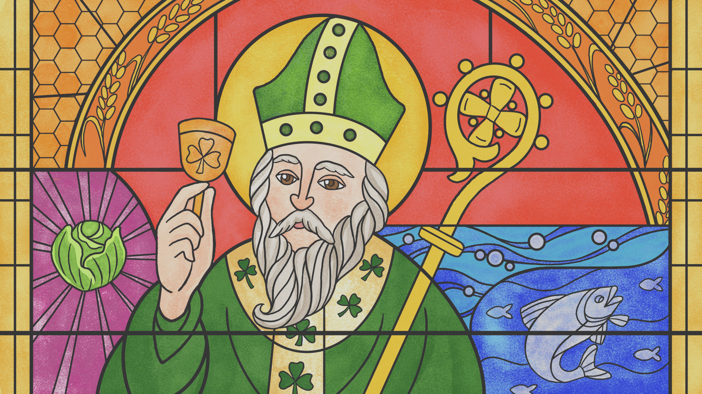 feast like its 399 the maybe true culinary adventures of st patrick