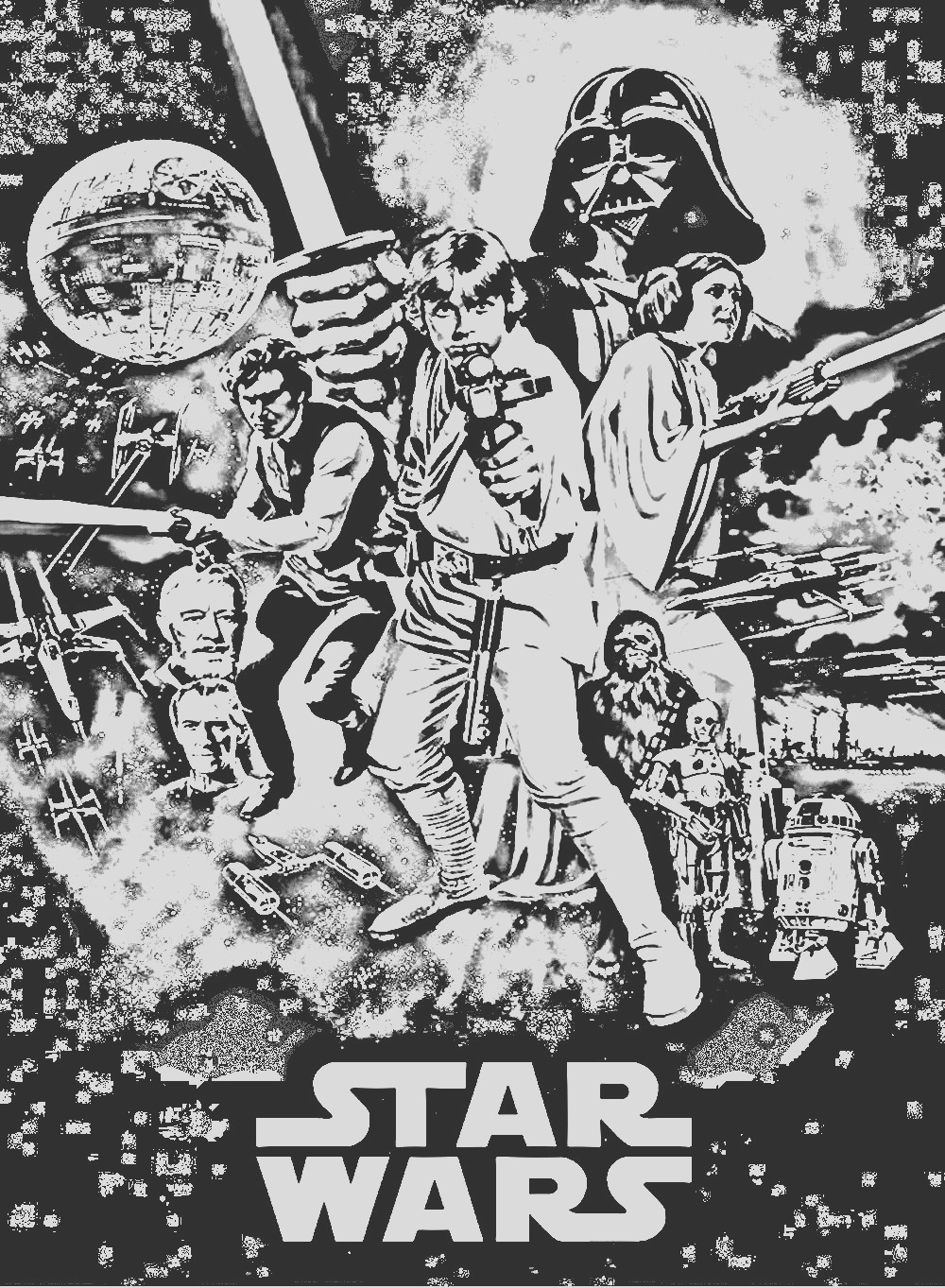 image=movie posters coloring movie star wars episode 4 1