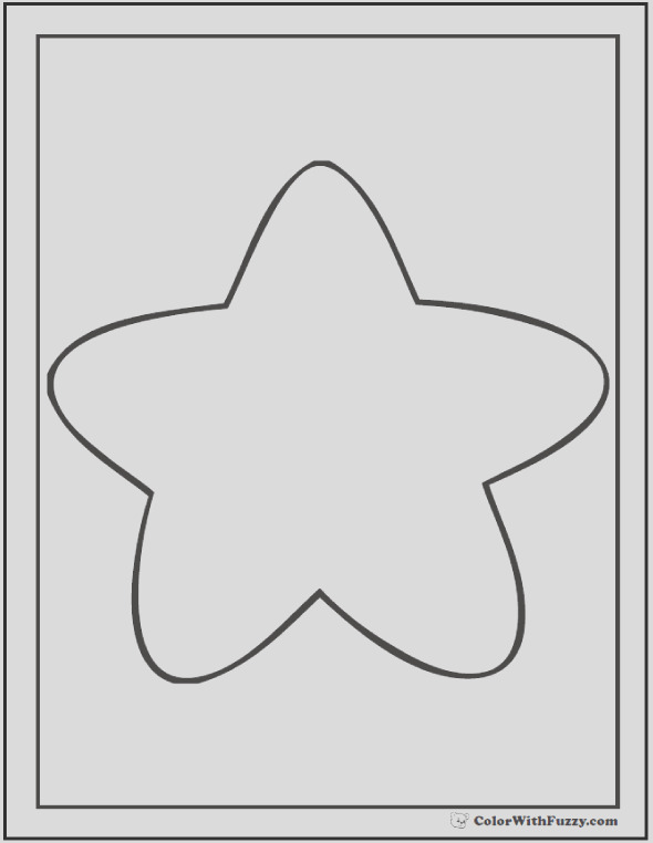 star coloring pages