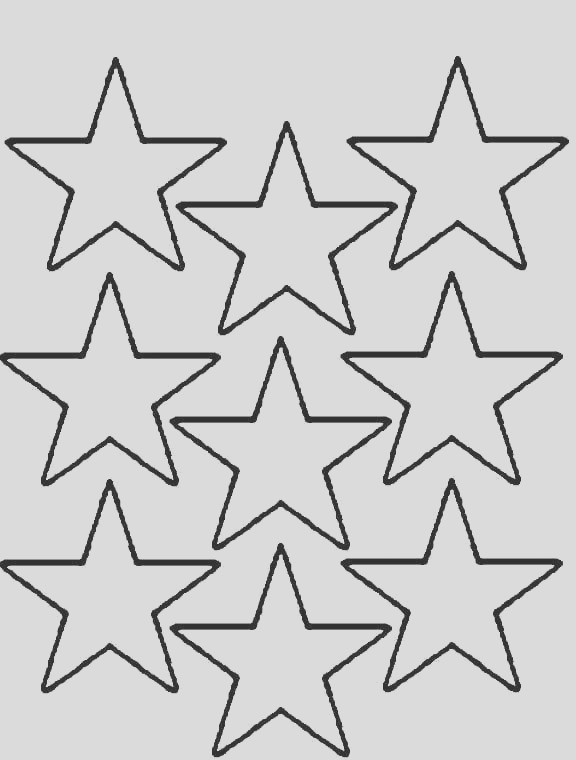 stars coloring pages multi stars print coloring pages printable coloring pages
