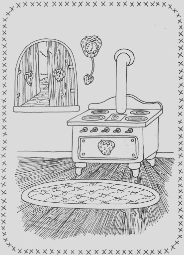 stove sketch templates