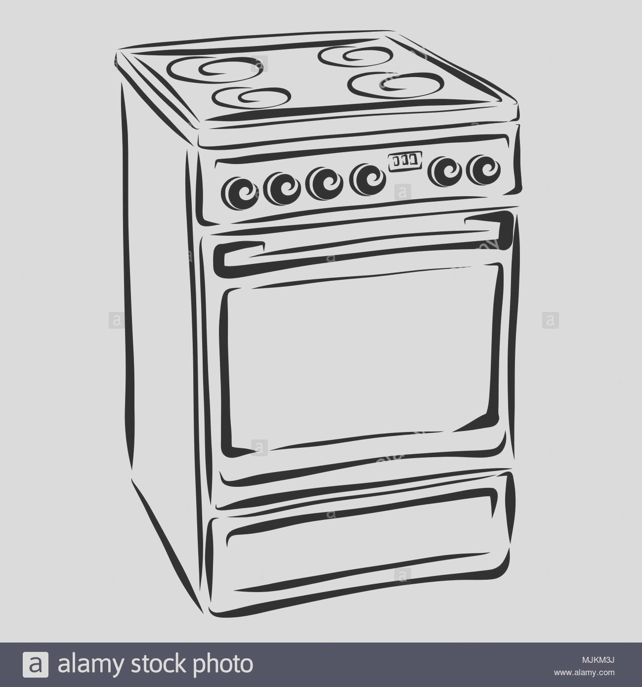 household appliances kitchen electric stove image