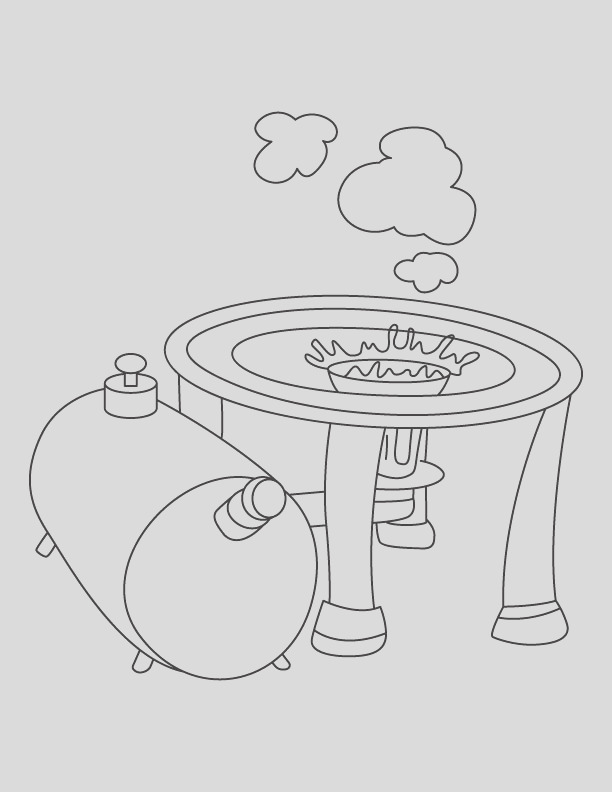 stove coloring page 1d2047