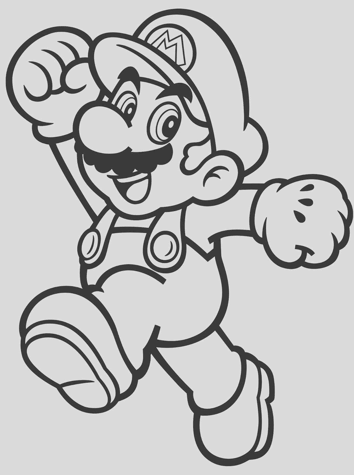 nintendo launches coloring pages with characters mario