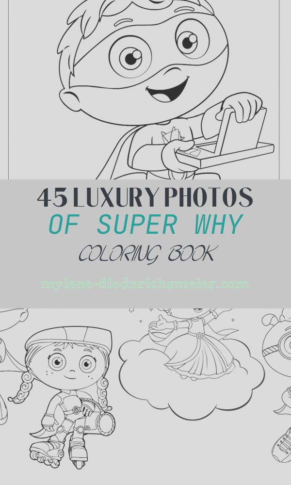 Super why Coloring Book New Super why Coloring Pages Best Coloring Pages for Kids