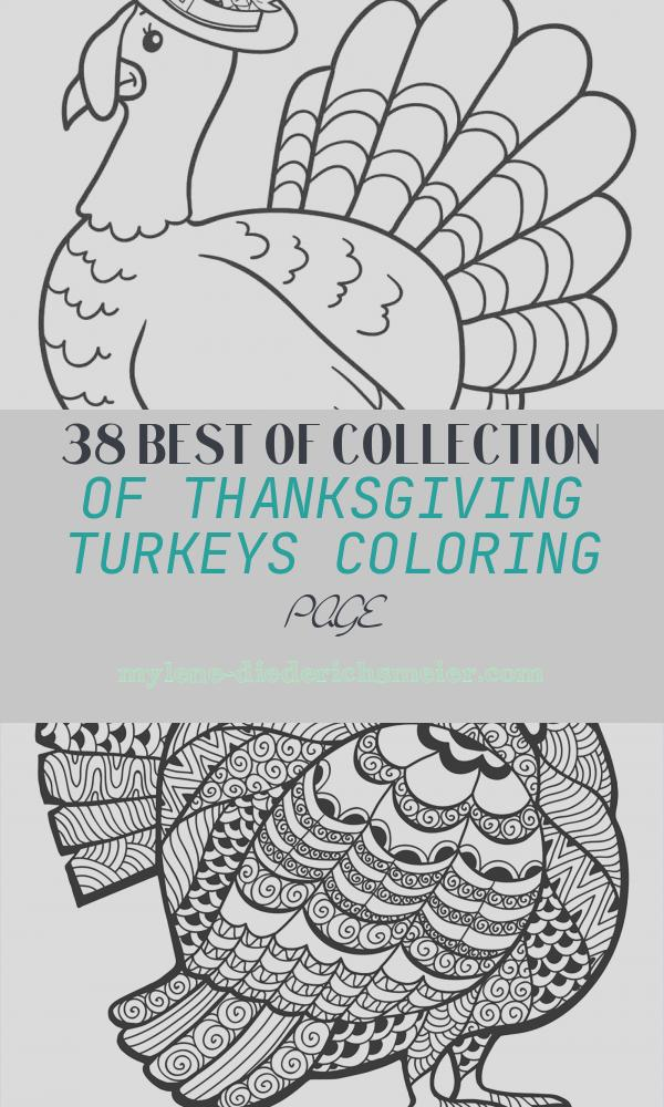 Thanksgiving Turkeys Coloring Page Beautiful Free Printable Turkey Coloring Pages for Kids