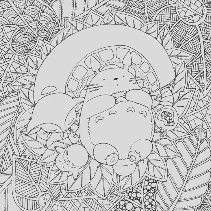 art therapy for adults free original coloring book