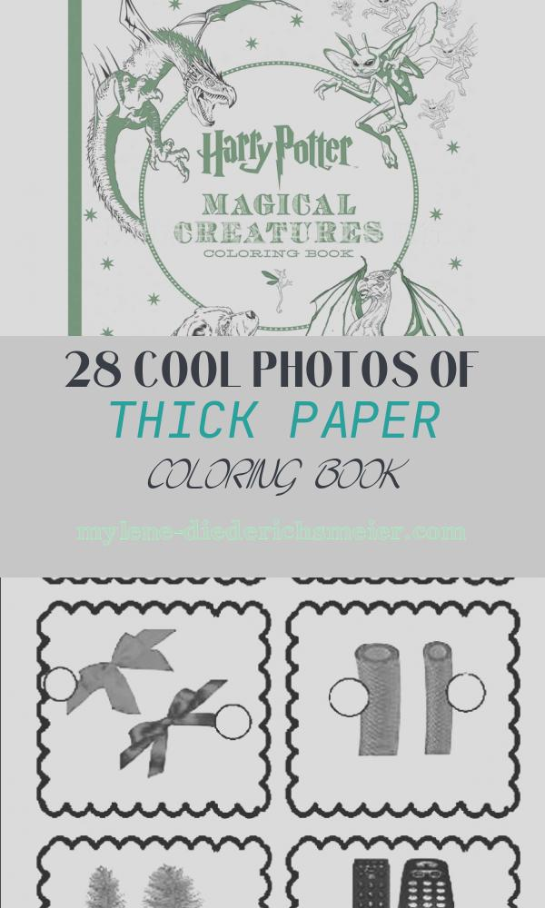Thick Paper Coloring Book Fresh 96 Pages Thick Paper Harry Potter Coloring Book for Adults