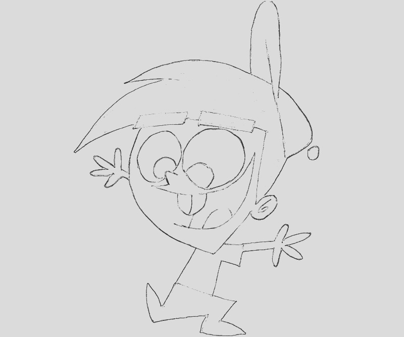 fairly oddparents timmy turner action