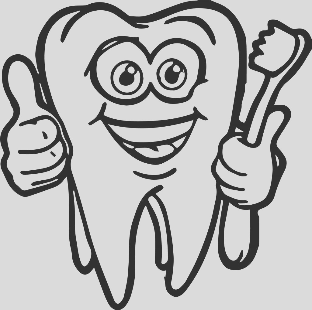 brushing teeth coloring pages dental for preschool as cartoon super tooth and brush print