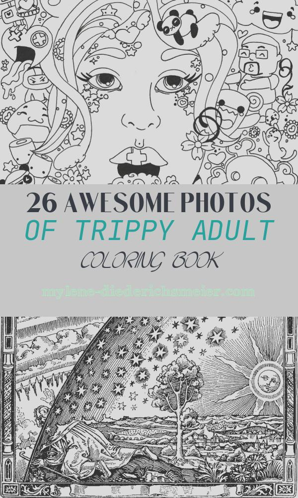 Trippy Adult Coloring Book Best Of Psychedelic Coloring Pages to and Print for Free