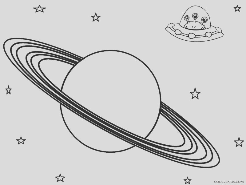 planet coloring pages