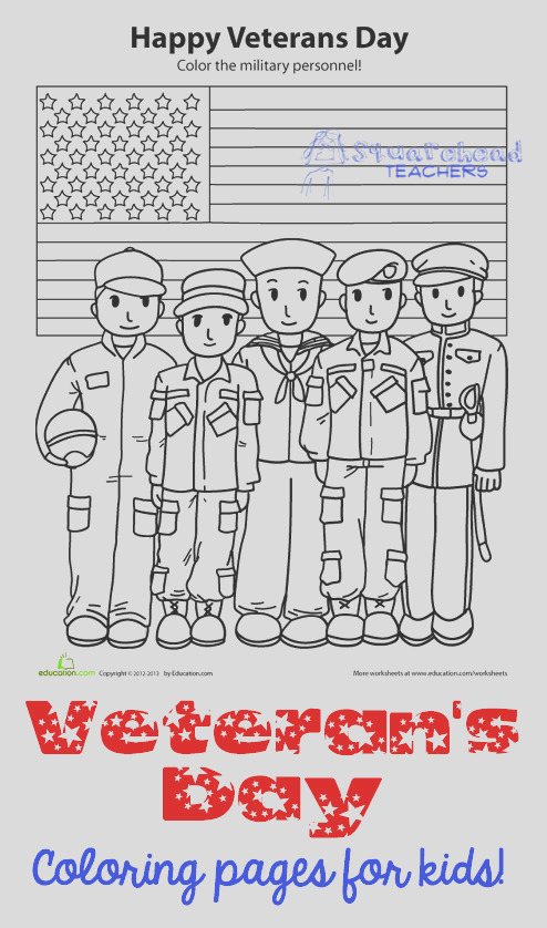 veterans day coloring pages and activities for kids