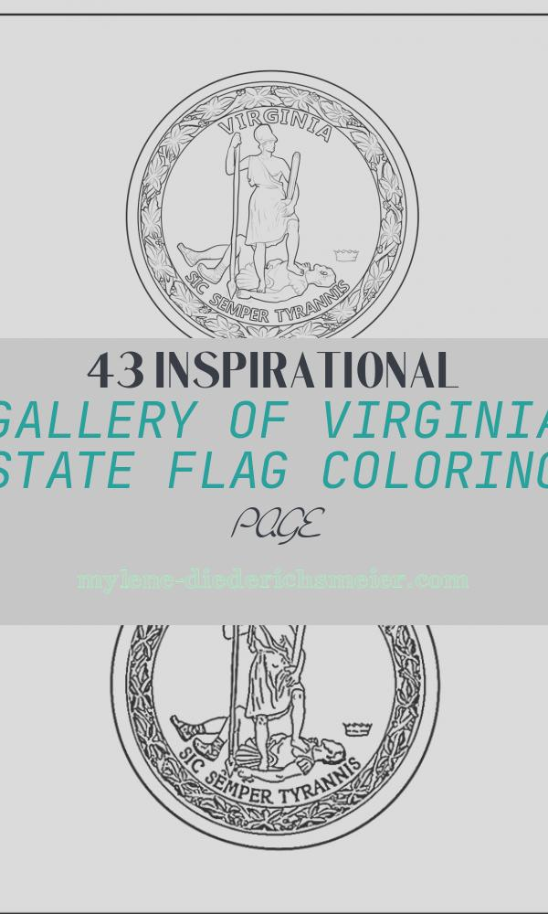 Virginia State Flag Coloring Page Beautiful Virginia State Flag Coloring Page