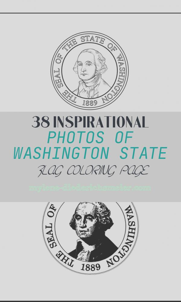 Washington State Flag Coloring Page Awesome Washington State Flag Coloring Page