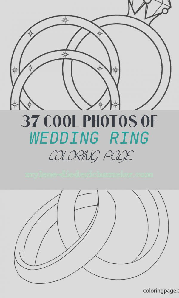 Wedding Ring Coloring Page Best Of 17 Wedding Coloring Pages for Kids who Love to Dream About