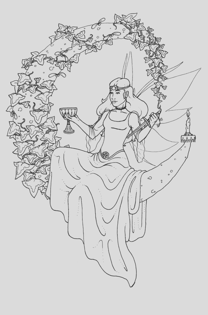 printable wiccan coloring pages