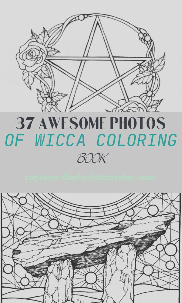 Wicca Coloring Book Luxury Wicca Coloring Page Wiccan Coloring Page Printable Adult