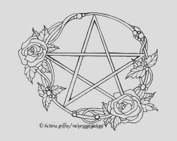 pagan coloring pages