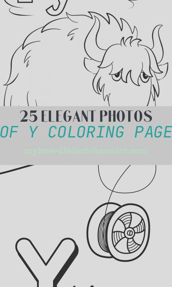 Y Coloring Page Beautiful Letter Y is for Yak Coloring Page