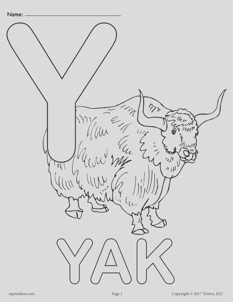 letter y alphabet coloring pages 3 free printable versions a7539