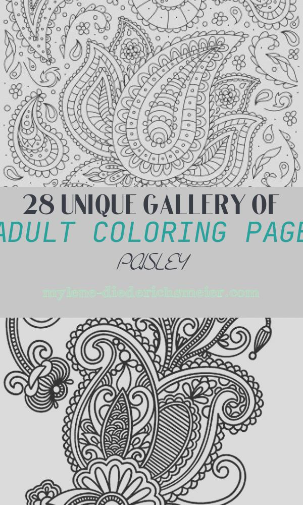 Adult Coloring Page Paisley Unique Paisley Flower Printable Adult Coloring Pages From Favoreads