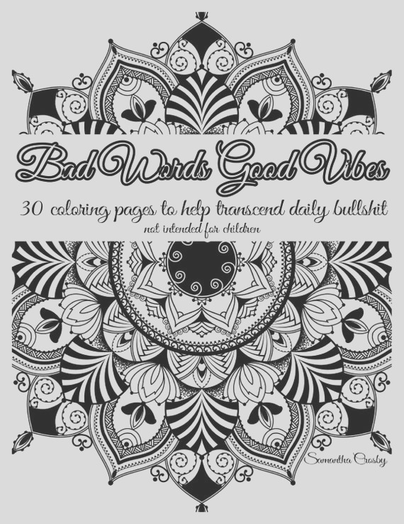 adult coloring book coloring book swear