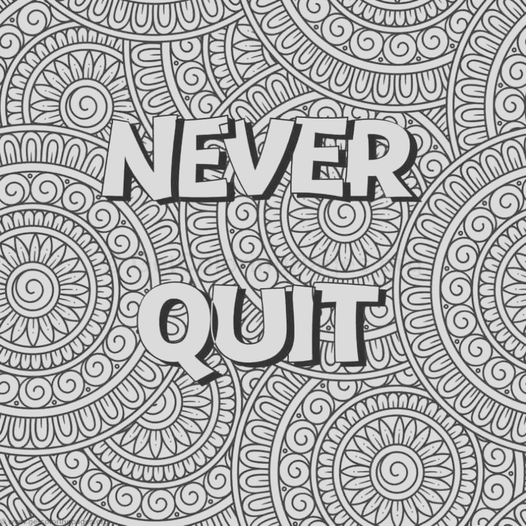 words coloring pages for adults