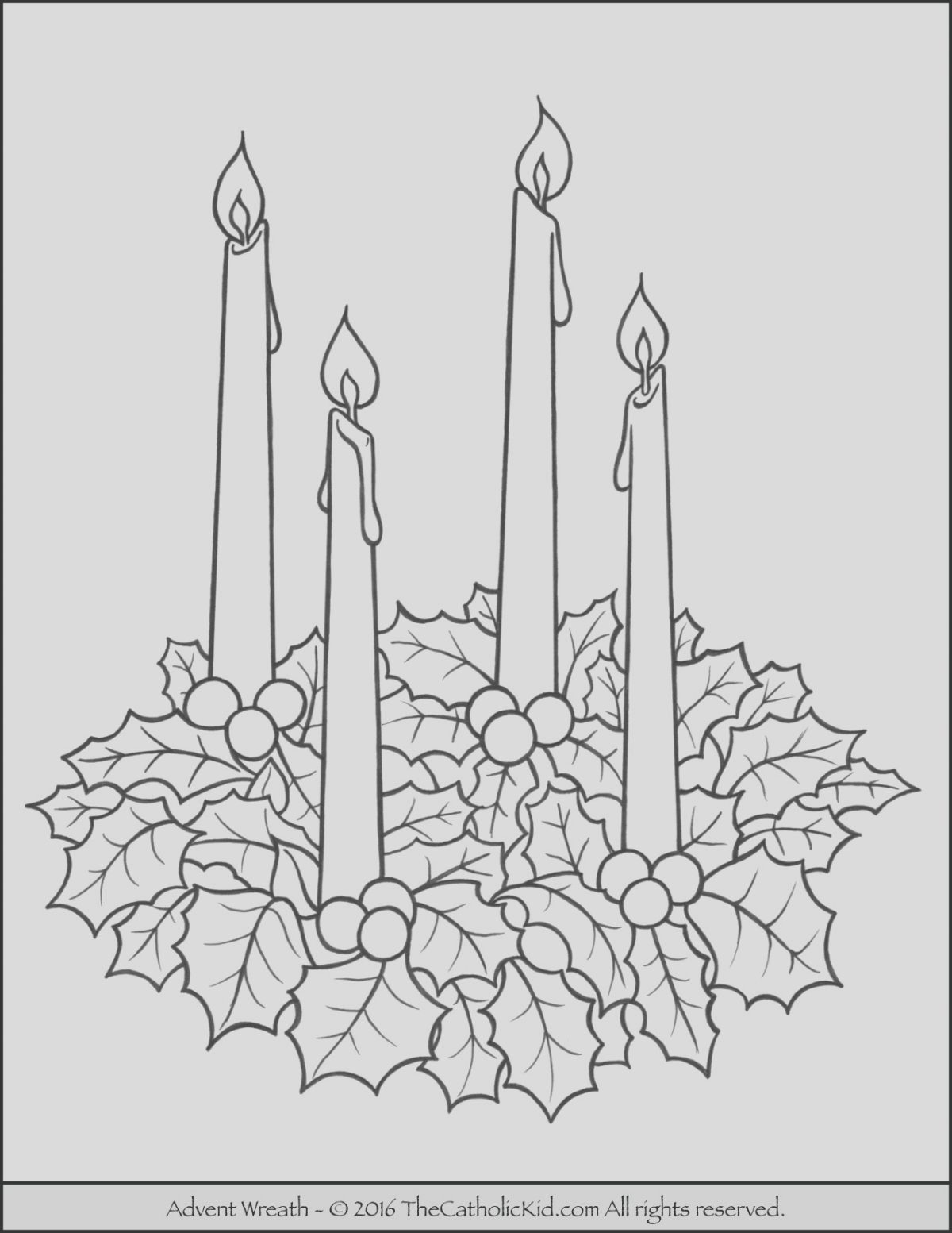 Advent Coloring Page Catholic Beautiful Advent Wreath Coloring Page