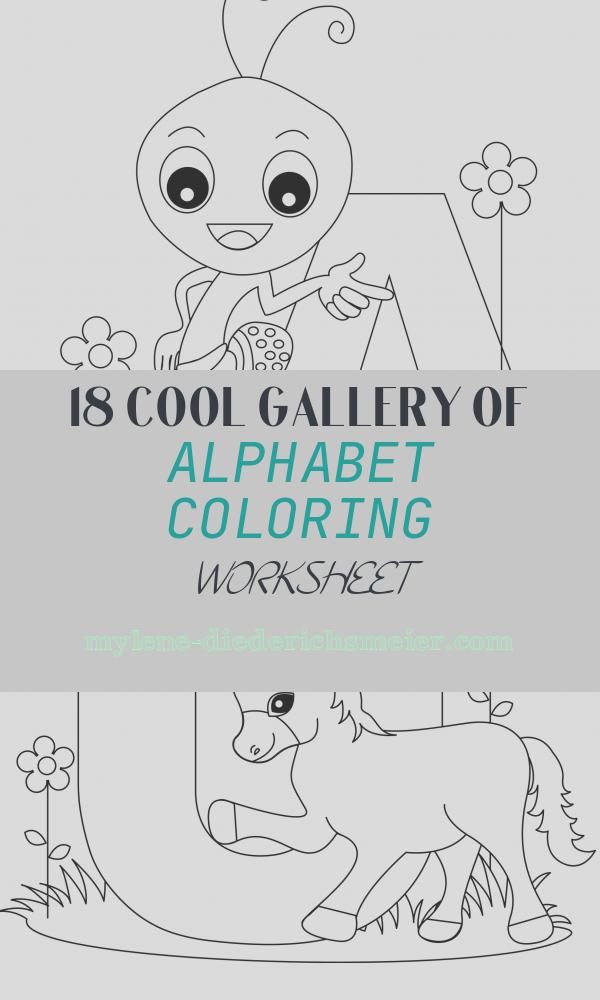 Alphabet Coloring Worksheet Luxury Free Printable Alphabet Coloring Pages for Kids Best