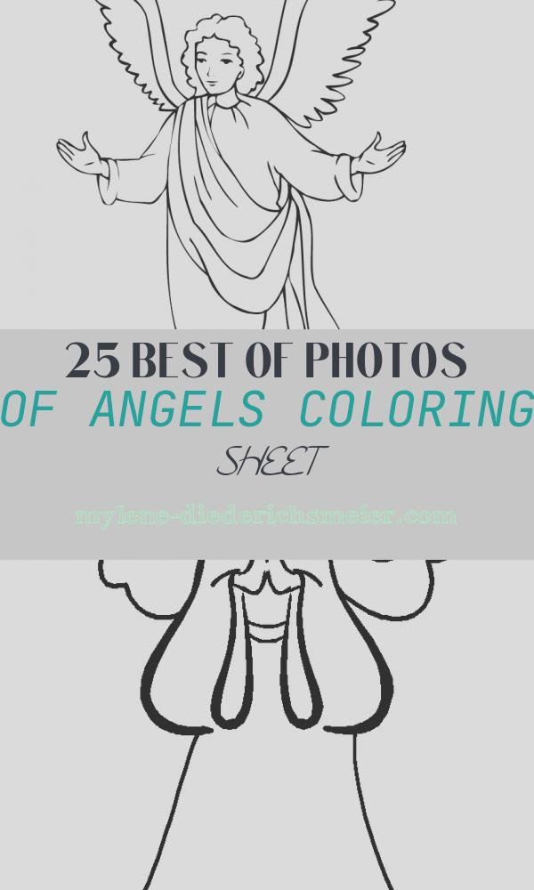 Angels Coloring Sheet Fresh Free Printable Angel Coloring Pages for Kids