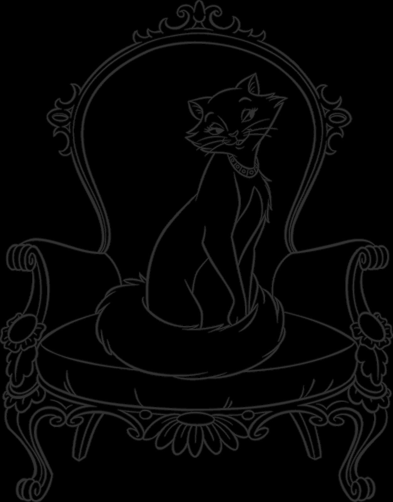 aristocats coloring page duchess