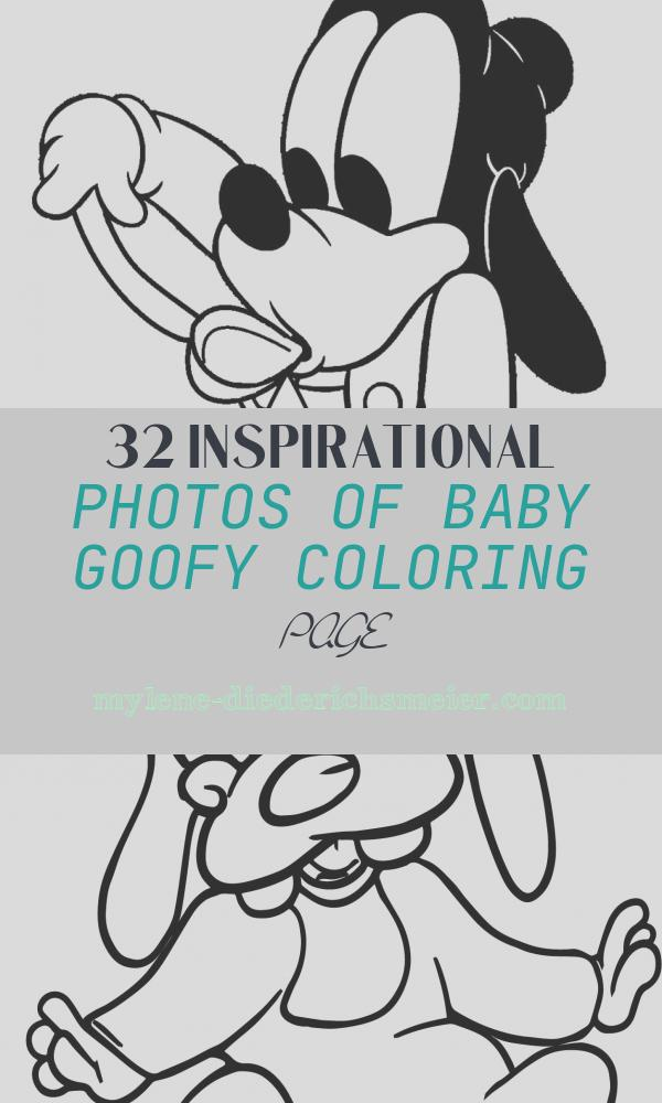 Baby Goofy Coloring Page Lovely Printable Goofy Coloring Pages for Kids