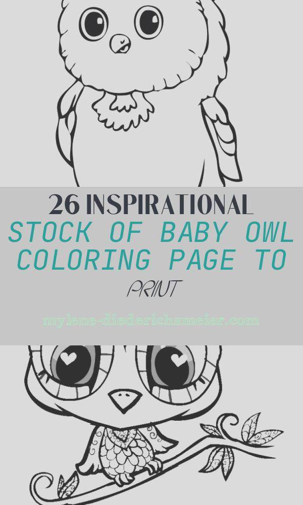Baby Owl Coloring Page to Print Lovely Baby Owl Coloring Page Download & Print Line Coloring