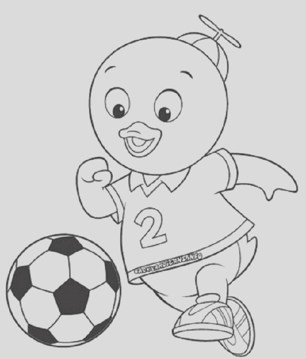 backyardigans coloring pages