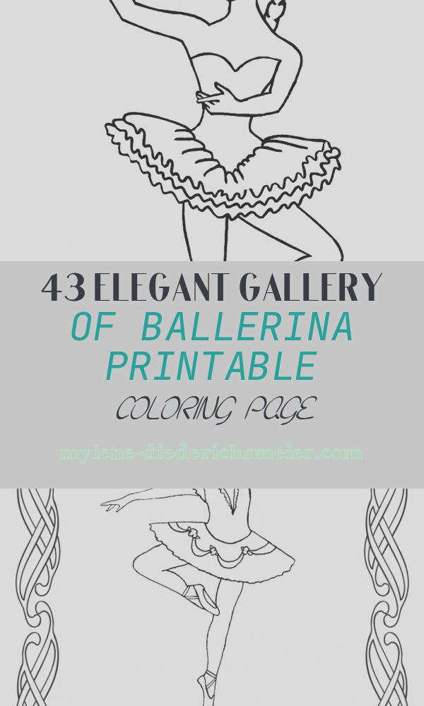 Ballerina Printable Coloring Page Awesome Ballerina Coloring Page