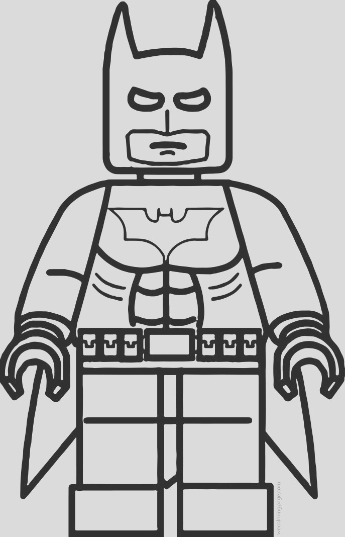 pictures of batman to color