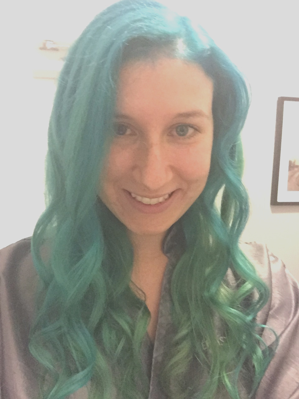 dyeing my hair blue what i wish i knew
