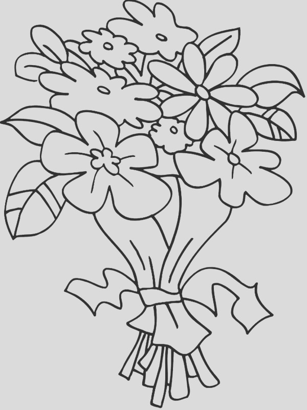 tulip coloring pages 2