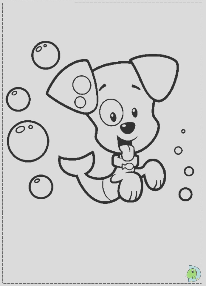 online bubble guppies coloring pages