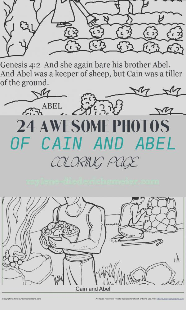 Cain and Abel Coloring Page Lovely Church House Collection Blog Cain and Abel Coloring Pages