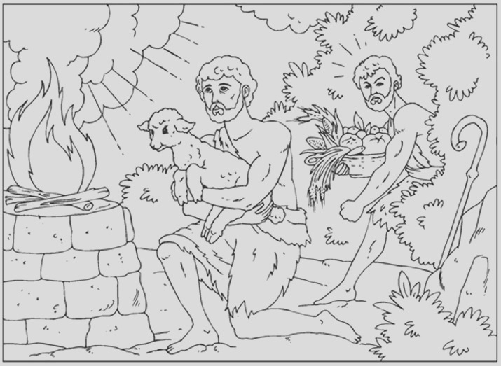 iconography of cain and abel
